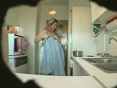 spy footage mature Erika in...